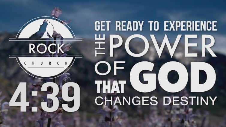 Rock Church Worship Service Countdown